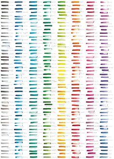 Wallpaper/Papier peint NUANCIER, United Colors of Ohmywall.