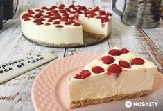 Happiness is a piece of cheesecake. Cookie Desserts, No Bake Desserts, Armenian Recipes, Nutella Cake, Sugar Free Recipes, Sweet Cakes, Winter Food, Cake Cookies, Food To Make