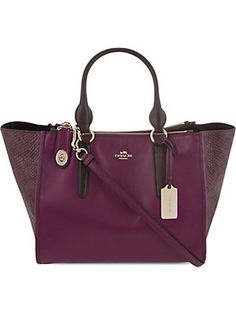 COACHCrosby leather carryall