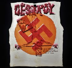 AUTHENTIC ORIGINAL VINTAGE 70's SEDITIONARIES DESTROY WESTWOOD MCLAREN T-SHIRT #SEDITIONARIES #GraphicTee