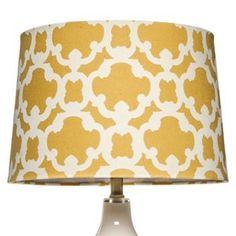 Threshold  Flocked Lamp Shade - Large