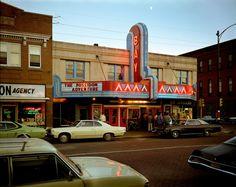 Stephen Shore: 2nd Street, Ashland, Wisconsin, July 9, 1973