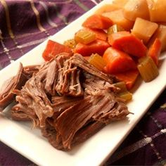 """Awesome Slow Cooker Pot Roast 