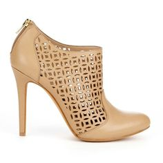Sole Society - Laser cut booties - Zaily - Adobe