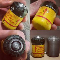 Painted 1st version of the Energy cell from Fallout 4 3D model created and…