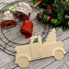 Red Truck Christmas Wreath Red Truck Christmas Wreath Farmhouse-style DIY Christmas wreath using supplies from the Dollar Tree! Paint the unfinished truck and glue to wreath! The post Red Truck Christmas Wreath appeared first on Craft for Boys. Dollar Tree Christmas, Christmas Truck, Christmas Crafts, Christmas Ideas, Christmas Decorations Dollar Tree, Homemade Christmas Wreaths, Christmas Farm, Diy Christmas Videos, Dollar Tree Fall
