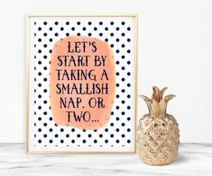 Start By Taking Nap Nap Print Typography Print Home Decor Wall Art