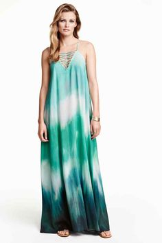 Patterned maxi dress | H&M