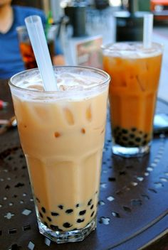 thai tea boba ♡