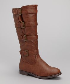 Take a look at this Cognac Ryder Boot on zulily today!