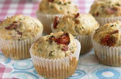 Bacon and Edam lunchbox muffins - 30 packed lunch ideas