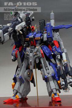 Custom Build: 1/72 FA-010S Full Armor ZZ Gundam [Detailed]