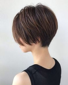 Pixie Haircut For Thick Hair, Short Hairstyles For Thick Hair, Thin Hair Haircuts, Short Hair Cuts, Bob Hairstyles, Asian Short Hair, Short Grey Hair, Short Hair With Layers, Girl Short Hair