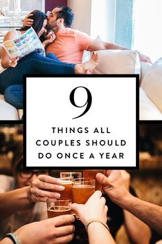 9 Things All Couples Should Do Once a Year via @PureWow