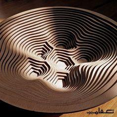 #techfam #laser #laserengraving #lasercut #lasercutter #engraving #wood #Bowl #kitchen #تکفام #لیزر #لیزرکات #حک #برش #چوب  #ظرف  #کاسه #لایه #تزیین #حجم by techfam