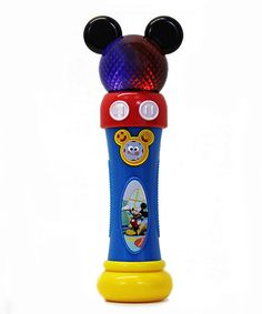 Look at this Mickey's Microphone on #zulily today!