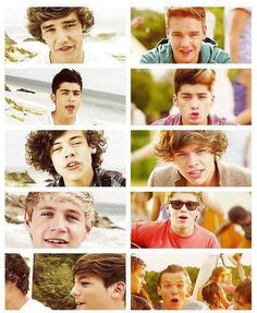What Makes You Beautiful - Live While We're Young ♥ look how much they've changed/ grew up
