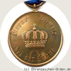 Prussia - UK. German States. Long Service Award 2nd Class for 12 years in 1913 Donated: July 4, 1913 by Emperor and King William II. Awarded: 1913-1924