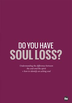 Core shamanism can help to understand the complexity of soul loss, and the difference between your soul and a spirit   Rogue Wood Supply