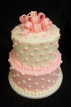 29 Super Ideas Baby Shower Cake For Girls No Fondant Flower Baby Shower Fun, Girl Shower, Baby Shower Themes, Shower Ideas, Baby Showers, Baby Shower Desserts, Baby Shower Cakes, Fancy Cakes, Cute Cakes