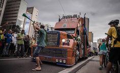 Ato contra o governo Dilma é realizado neste domingo (15) em São Paulo, na avenida Paulista