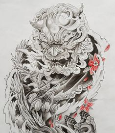Image may contain: plant Japanese Tattoo Symbols, Japanese Tattoo Art, Japanese Tattoo Designs, Japanese Sleeve Tattoos, Full Arm Tattoos, Wrist Tattoos For Guys, Finger Tattoos, Body Art Tattoos, Foo Dog Tattoo Design