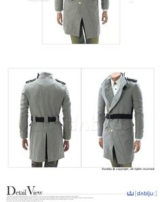Military-inspired. Swooooon #japanese #men #fashion
