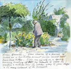 I don't know why, but I have always enjoyed looking at Edward Ardizzone 's illustrations. Even when I was a wee tot, in the basement childr. Edward Ardizzone, Letter Art, Letters, Artist Sketchbook, Children's Book Illustration, Digital Illustration, Nature Journal, Mail Art, Art Plastique
