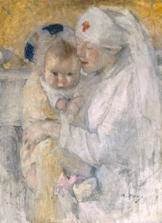It's About Time: English Artist Beatrice Julia How 1867-1932 Paints Delicate Infants & Mothers