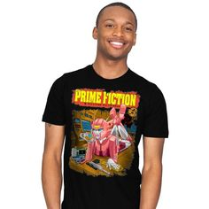 Prime Fiction T-Shirt - Transformers T-Shirt is $13 today at Ript!