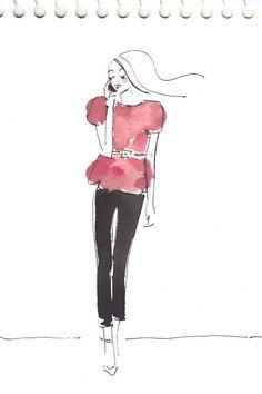©KeraTill #fashion #illustrations ..