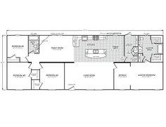 Triple Wide Mobile Home Floor Plans | Ideal MFG Homes ...