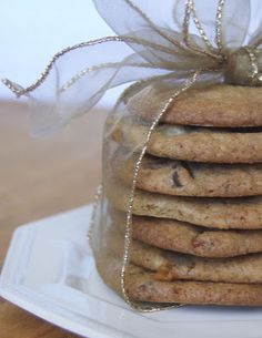365 Days of Baking and More: Triple Chocolate Toffee Caramel Cookies