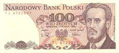 Motivseite: Geldschein-Europa-Mitteleuropa-Polen-Złoty-100.00-1988