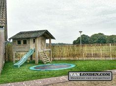Speelhuis van steigerhout ... www.vanlonden.com Park, Tour De Lit, Parks