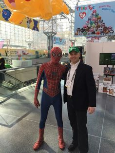 Our spidey senses are tingling at the 2017 Toy Fair NY! #tfny