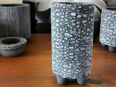 Small textured concrete pot - perfect for succulents and cactus Concrete Pots, Cactus, Succulents, Succulent Plants