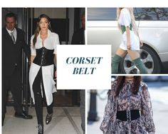 The layering of clothes definitely adds that x factor to your look. Corset Belt can be used as a layer to make a simple dress extraordinary.