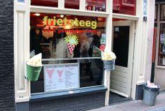 DONNERSTAG Mittagessen Frietsteeg - lecker, lecker Pommes !!! die besten der Stadt!