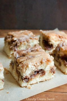 "Cinnamon Roll Cake (Crunchy, Creamy, Sweet). ""This Cinnamon Roll Cake has all the features of your favorite roll and is made entirely from scratch."