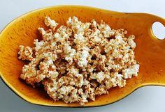 almond maple popcorn from Super Healthy Kids
