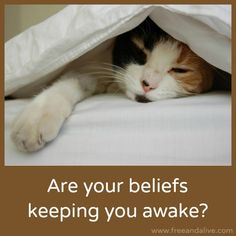 Do you have a hard time going to sleep, or wake up in the middle of the night and toss and turn for hours?  Your beliefs may be a hidden source of your sleeplessness.  Check out our new blog post to find out more.  #sleep #sweetdreams #heal #health #healthy #healer #mind #mindfulness #yoga #yogalife #rejuvenate #relax #coach #skypecoach #transform #transformation #inspire #empower #empowerment