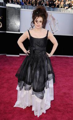 Burton Helena Bonham Carter 85th Annual Academy Awards