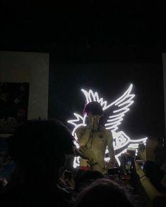 Hellboy Tattoo, Lil Peep Beamerboy, Lil Peep Hellboy, Ghost Boy, Bedroom Wall Collage, Lil Boy, Fantasy Artwork, Music Artists, Peeps