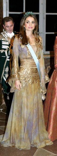 Queen Rania of Jordan .