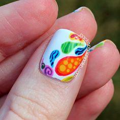 nice PackAPunchPolish: Patterned Paisley Nail Art Check more at http://nailscandycoated.com/pin/7420/
