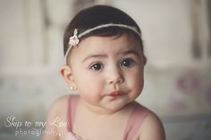Jacinta - 8 months - sitters session - Melbourne Newborn Photographer Baby Children Photography - how cute is her baby pout face