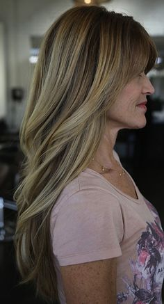 Mature ombre... ideal for grey clients wanting a blonde change