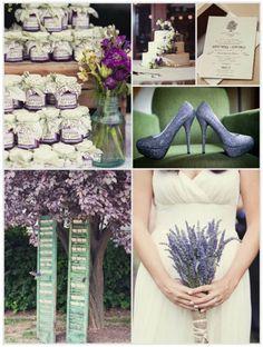 Painel de inspiração lilás e verde + Casamento   Andrea Velame Blog