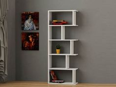 TAPI Bookcase, Shelving Unit by DECORTIE